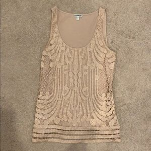 Blush Express tank top